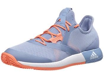 5c0838ce038cf adidas Defiant Bounce Blue White Coral Women s Shoes