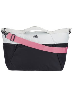 f12be257eacf adidas Studio III Duffel Bag Black Silver Pink