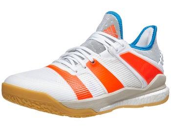 super popular 7aea5 7beab adidas Stabil X Men's Shoes - White/Solar Red