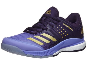 official photos ce16f c2c77 adidas Crazyflight X Womens Shoes - Chalk PurpleGold