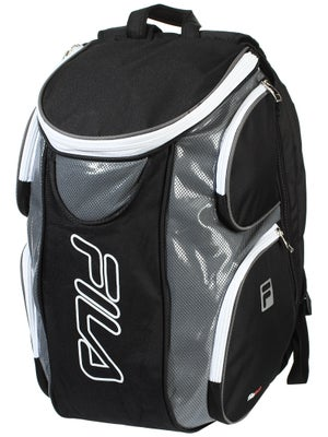 Fila Tennis Backpack Black Grey