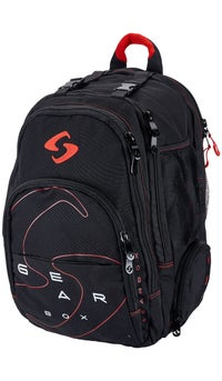 Gearbox M40 Racquetball Backpack - Black Red c6e582afc3b68