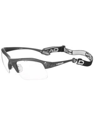 b2d3b46a1eb HEAD Raptor Racquetball Eyewear - Charcoal