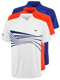 377f49923 Lacoste Men s Novak Djokovic Center Geo Polo