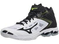 5007933c160a Mizuno Wave Lightning Z5 Mid Men's Shoes - Wh/Bk. New