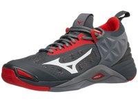 12dcf0160f2e Mizuno Wave Momentum Men's Shoes - High Risk Red/Grey. New