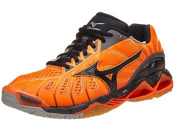 Mizuno Wave Tornado X Men s Shoes - Orange Black 57f96288a0c
