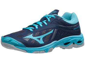 6e56ac29173e Mizuno Wave Lightning Z4 Women's Shoes - Navy/Aqua