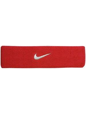 Nike Swoosh Headband Red White 9b91b50a279