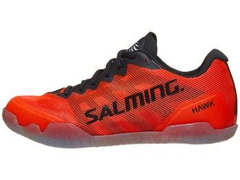 0e266162 Salming Hawk Men's Shoes - Black/Lava Red