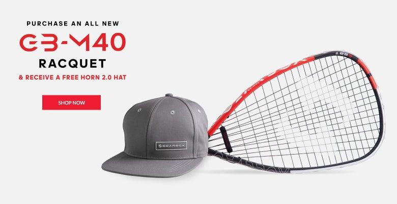 da3f25ec2074 Gearbox 2019 M40 Racquet Series